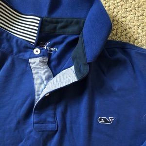 Large Vineyard Vines Longsleeve Polo